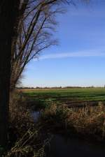 Wewelsfleth/131404/blick-ueber-schoene-landschaft-in-der Blick über schöne Landschaft in der Nähe des Apfelgartens in Wewelsfleth 07.11.2010