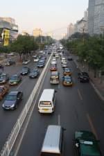 Peking/130822/feierabendverkehr-in-der-innenstadt-von-peking Feierabendverkehr in der Innenstadt von Peking 13.10.2010