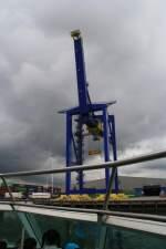 Rotterdam/152395/container-kran-im-hafen-von-rotterdam-27072011 Container-Kran im Hafen von Rotterdam 27.07.2011
